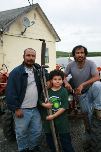 Pedro Rodriguez and family. 2008